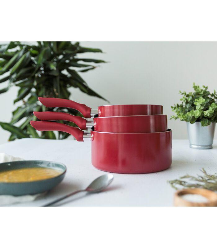 Set de 3 casseroles aspect pierre image number 4