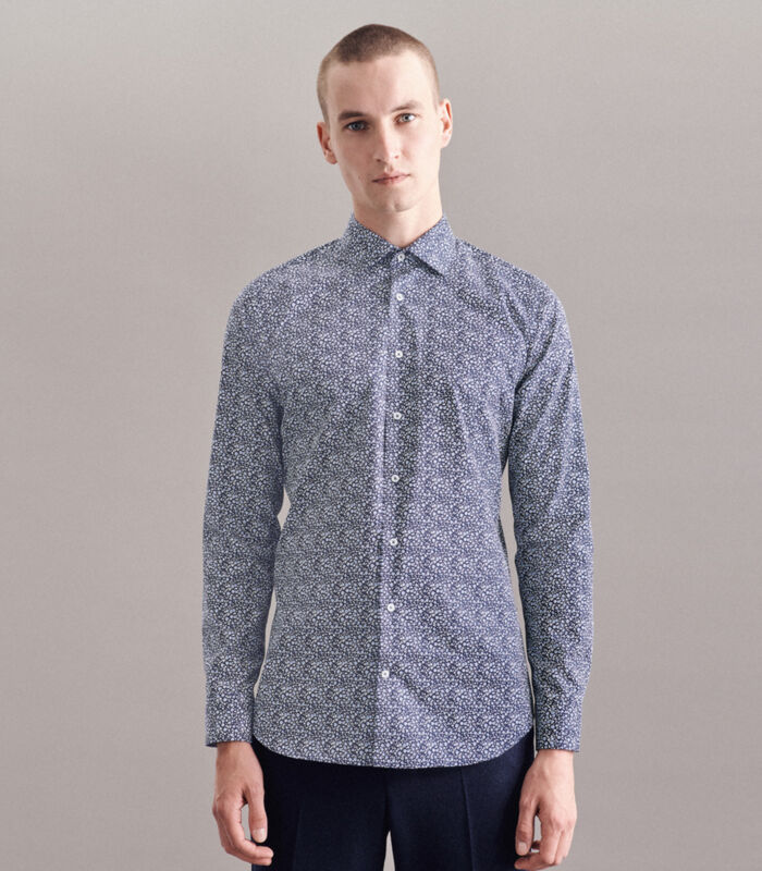 Overhemd Shaped Fit Lange mouwen Print image number 4