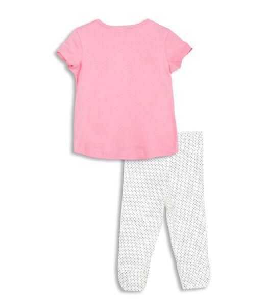 2-delige set T-shirt en legging