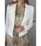 Mooi aansluitend wit jasje met reverskraag image number 0