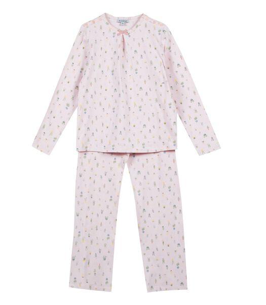Gebreide pyjama met lange mouwen