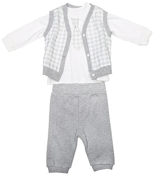Biologisch katoenen baby kleertjes set, SIMON