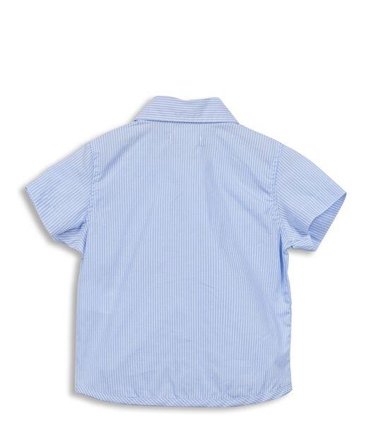 Gestreept hemd met zakken