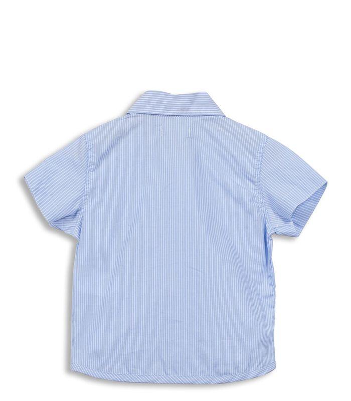 Gestreept hemd met zakken image number 1