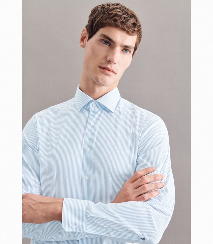 Performance hemd Regular Fit Lange mouwen Strepen image number 4