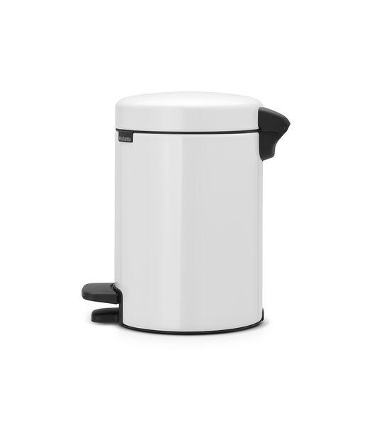 Poubelle à Pédale newIcon - 3 litres - White