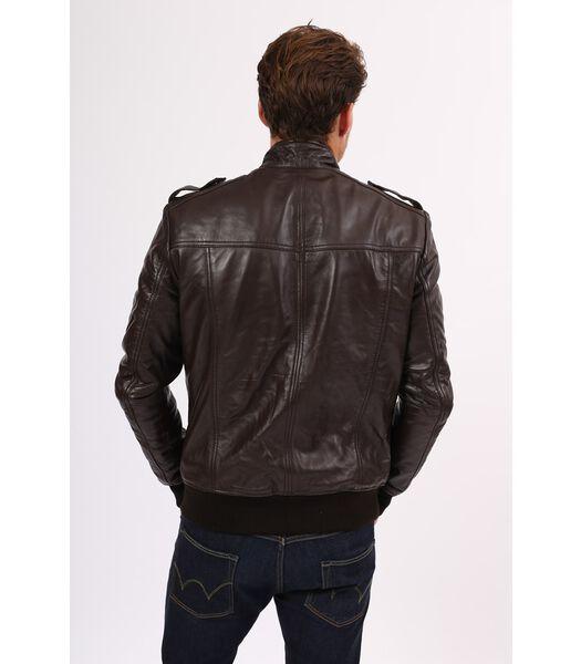 PAT veste homme en cuir