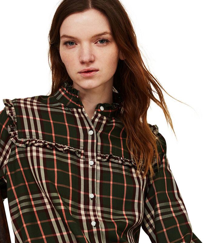Jordan lyocell blouse met ruches image number 4