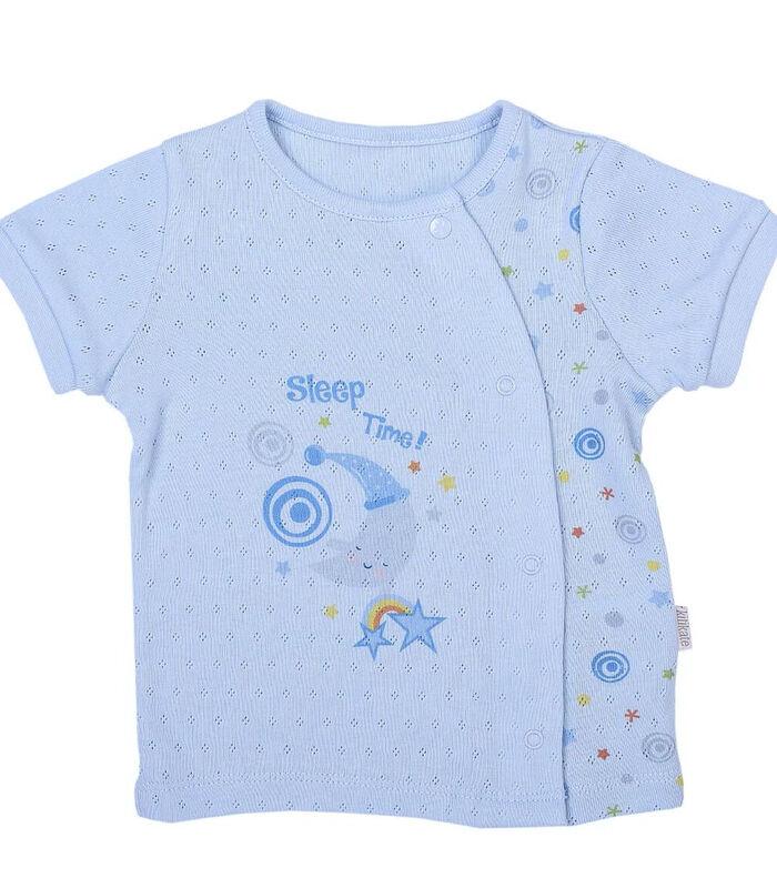Biologisch katoenen baby t-shirt en broekje set, Dreams image number 1