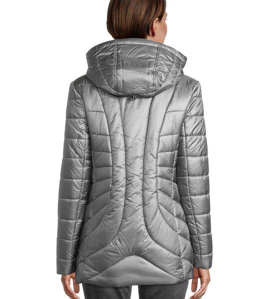 Veste matelassée à capuche amovible