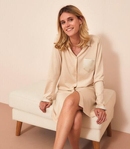 TUILERIE - Liquette manches longues 50% Jersey de coton