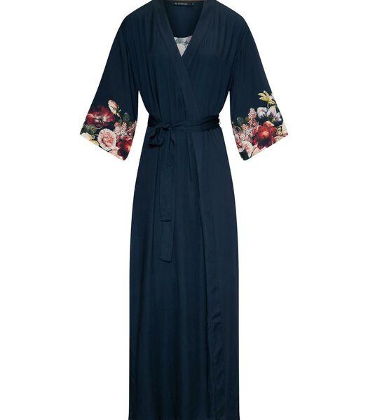 JULA ANNECLAIRE - Kimono - Indigo Blauw
