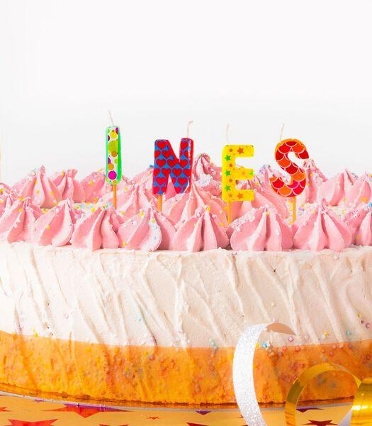 Verjaardagskaarsen voor de naam Ines