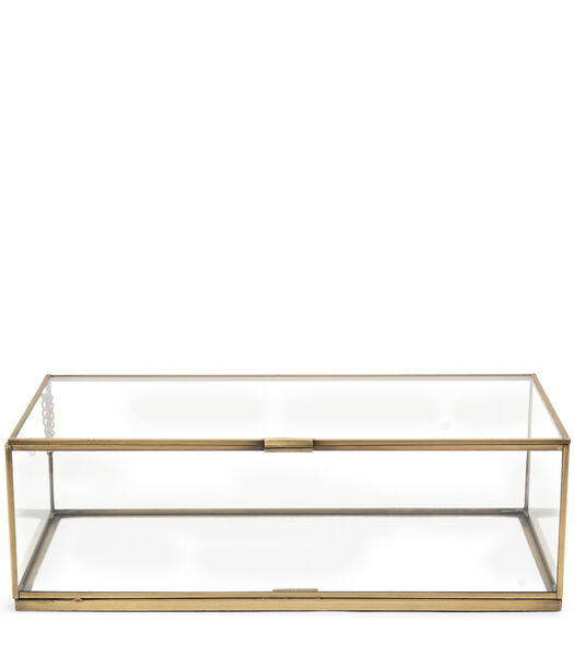 Provence French Glass Box 40x22