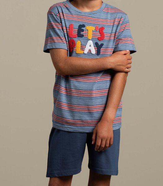 Pyjama korte broek matti