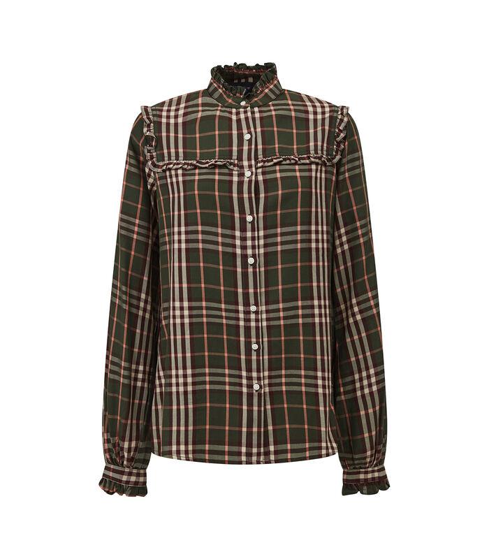 Jordan lyocell blouse met ruches image number 3