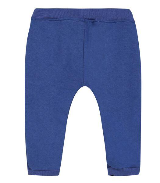 Fleece broek met elastische riem