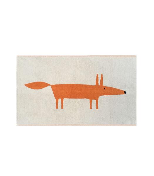 MR FOX Sable - Tapis de bain coton