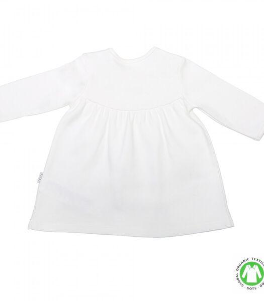 Biologisch katoenen baby jurkje, Charlene