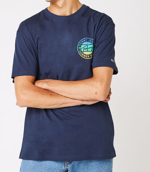 T-shirts Bleu