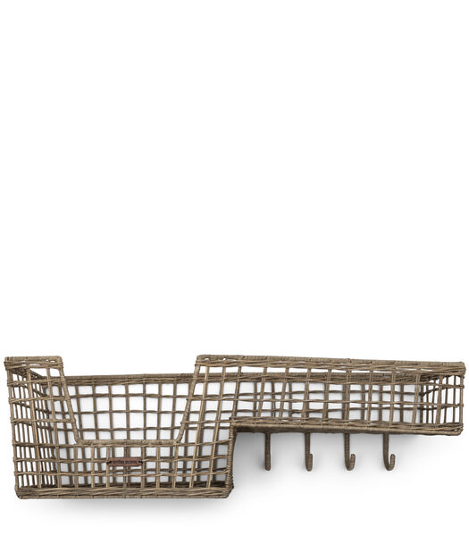 RR Elegant Basket Coat Rack