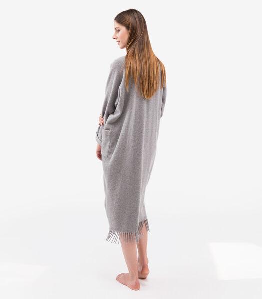 Poncho homewear 100% laine