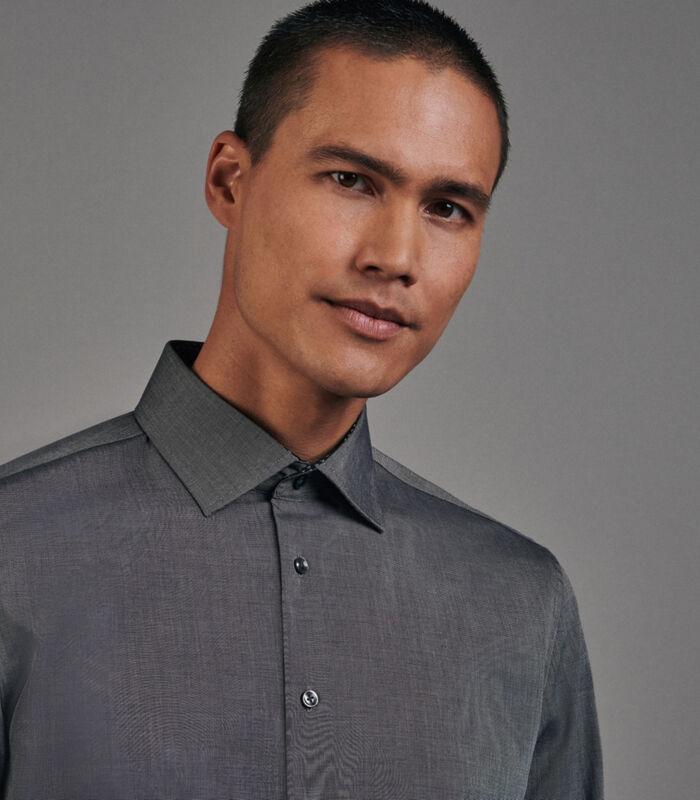 Overhemd Slim Fit Lange arm Uni image number 2