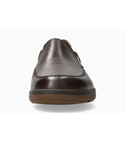 DAVY-Loafers leer