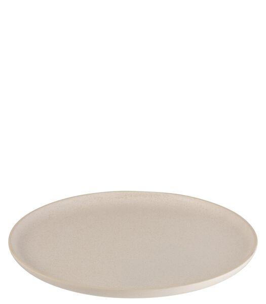 Assiette Marie Ceramique Creme Large