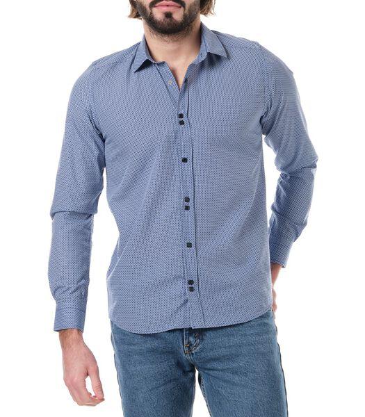SANJI shirt met lange mouwen en opdruk