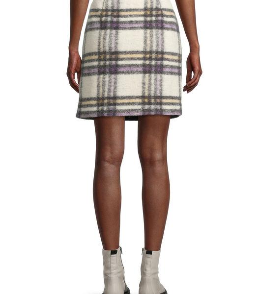 Mini-jupe à motifs