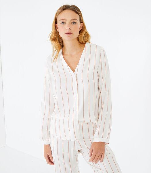Sonate - Homewear hemd viscose