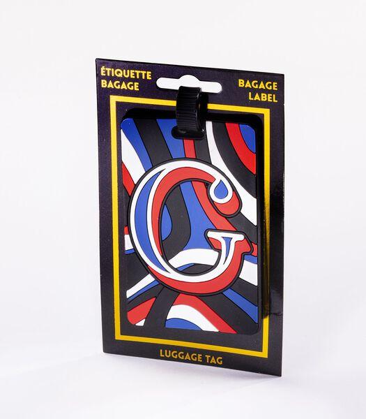 Bagagelabel - Letter G