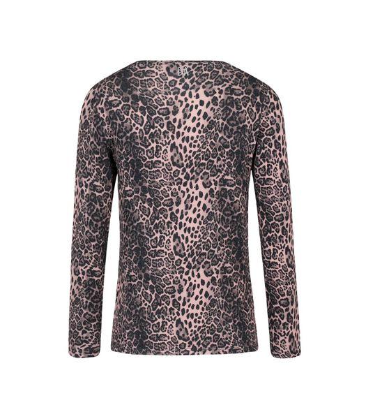 T-shirt in luipaardprint jersey GLORIA