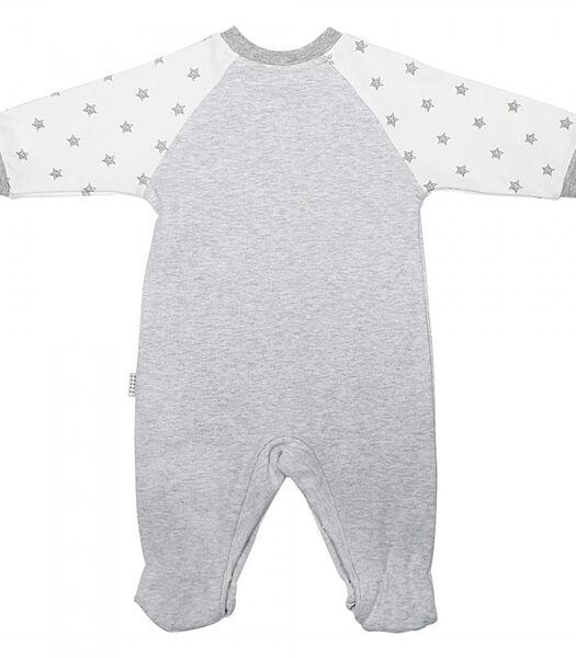 Biologisch katoenen babypyjama en bandana, BEGIN