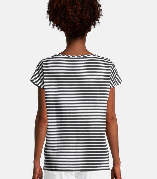 Casual shirt met strepen