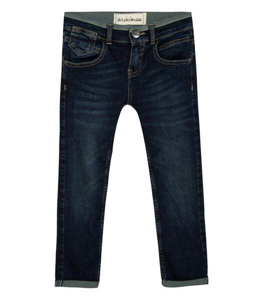 Slim fit jeans met 5 zakken