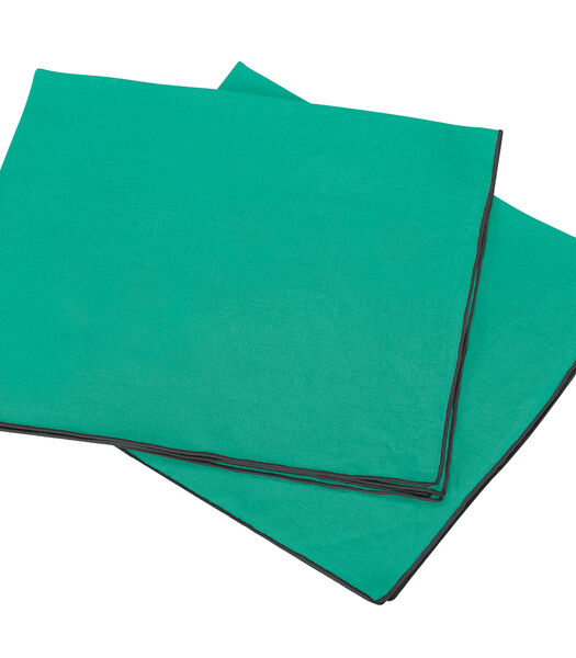Set van 2 gewassen linnen servetten, AUTOUR DU LIN