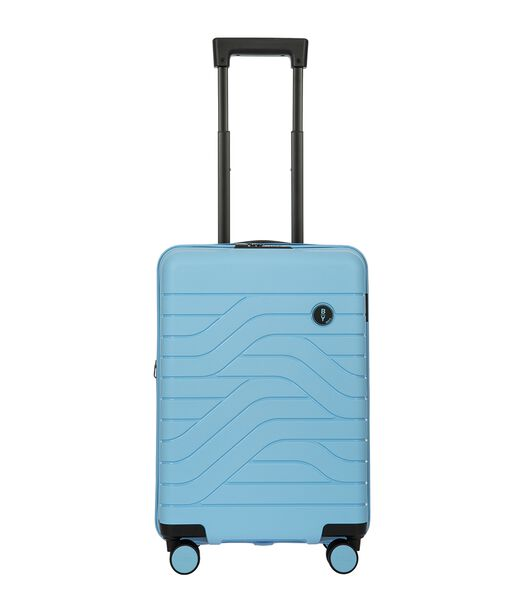 Bric's Ulisse Trolley Expandable 55 USB sky blue