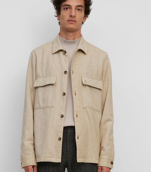Overshirt van organic cotton