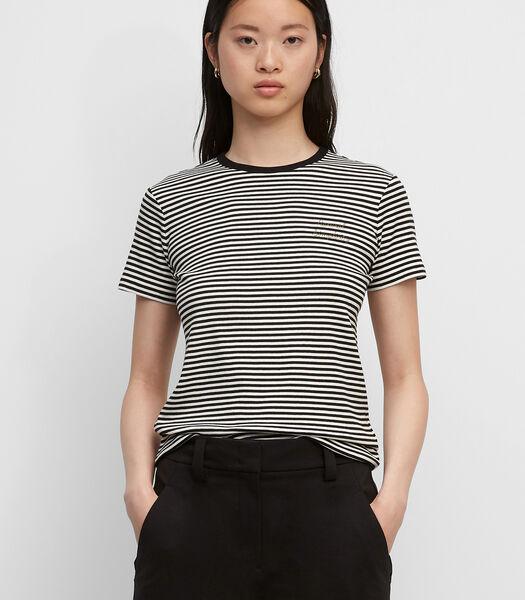 T-shirt van jersey met een gemiddeld gewicht