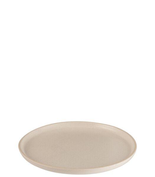 Assiette Marie Ceramique Creme Medium