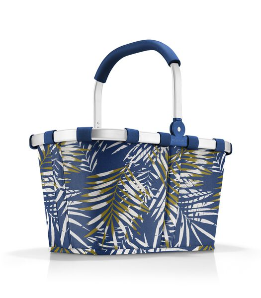 Carrybag - Boodschappenmand - Jungle Space Blue Blauw
