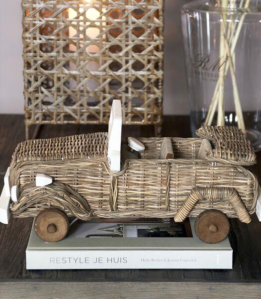 Rustic Rattan Safari Car