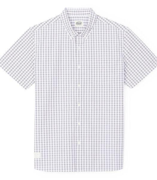Geruit hemd met korte mouwen COSTAL