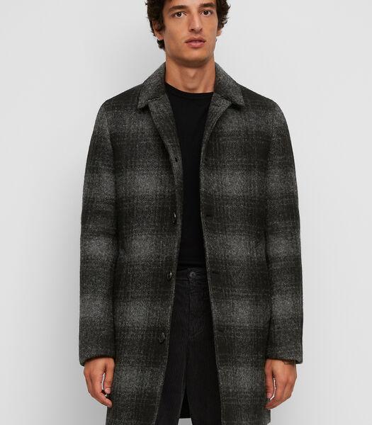 Mantel van een hoogwaardige wolmix