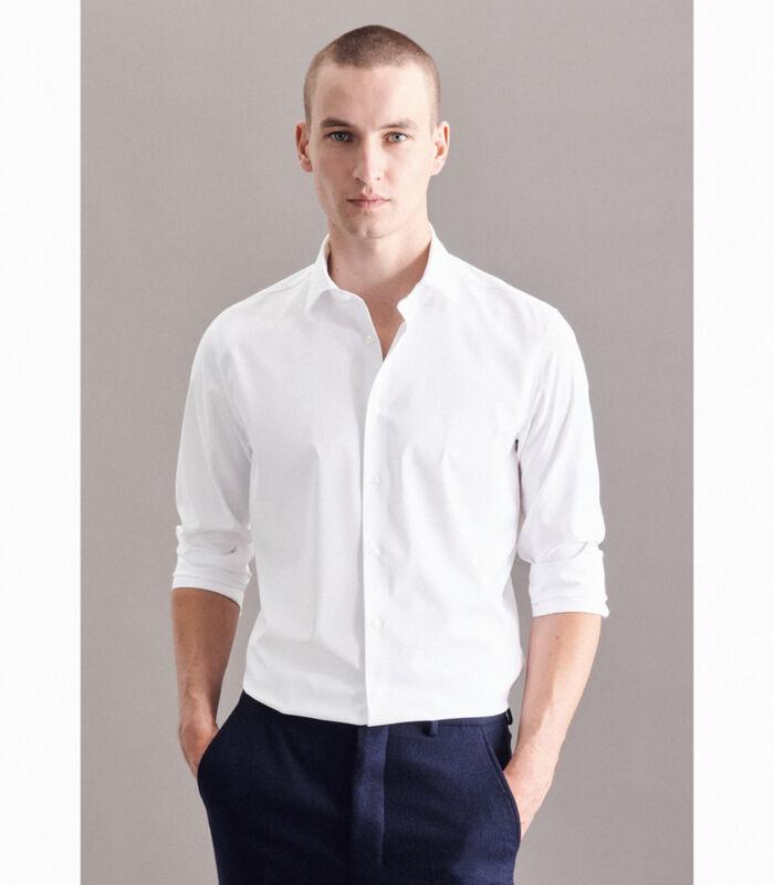 Performance hemd Slim Fit Lange mouwen Uni image number 4