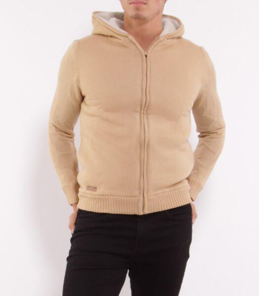 Sherpa vest met rits COOL