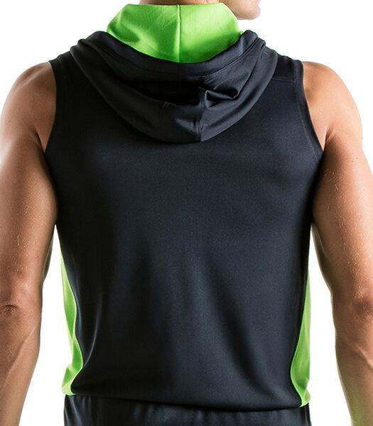Veste à capuche sans manches Active