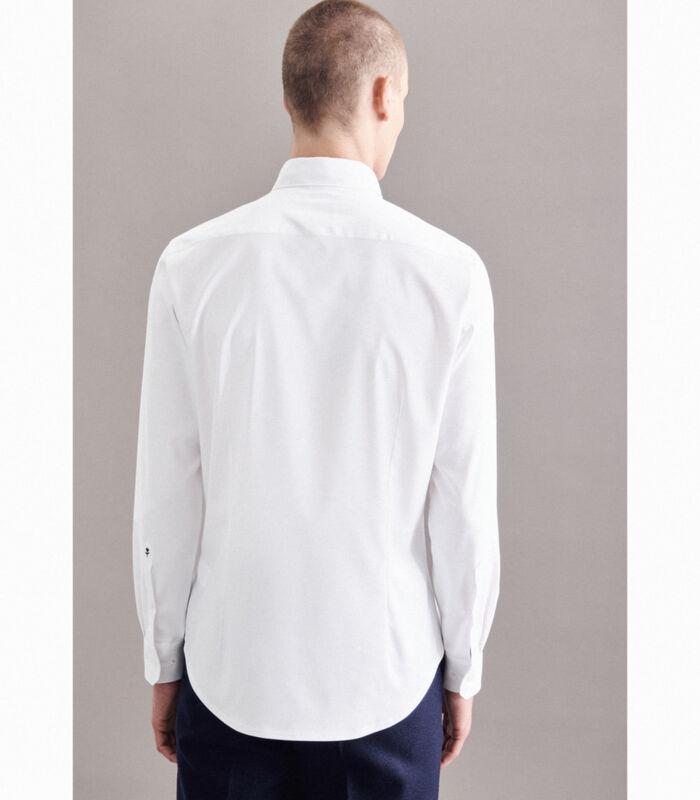 Performance hemd Slim Fit Lange mouwen Uni image number 1